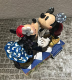 Jim Shore Disney Mickey and Minnie Smooching with Love