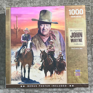 John Wayne, The Cowboy Way 1000 piece puzzle