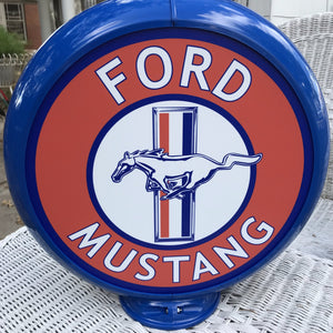 Ford Mustang Reproduction Gas Pump Globe