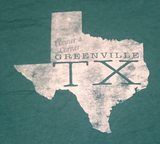 """Greenville TX"" Unisex T-shirt"