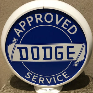 Dodge Reproduction Gas Pump Globe