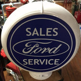 Ford Reproduction Gas Pump Globe Sign