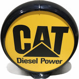 Caterpillar Diesel Power Reproduction Poly Plastic Gas Pump Globe