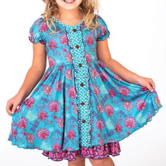 Twirly Dress Floral Flutter