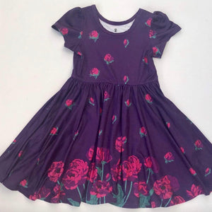 Rose Blossom Girls Twirly Dress