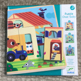 Puzzle Chez Gaby Layered Puzzle for Toddlers