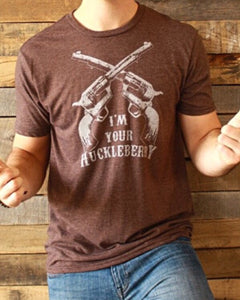 """I'm your Huckleberry"" T-shirt"