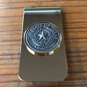 State Seal of Texas Money Clip
