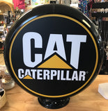 Caterpillar Reproduction Poly Plastic Gas Pump Globe