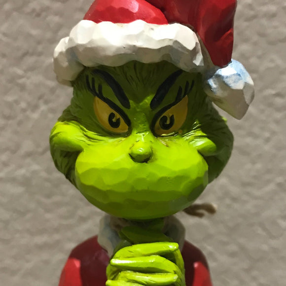 Jim Shore Grinch Clasping His Hands