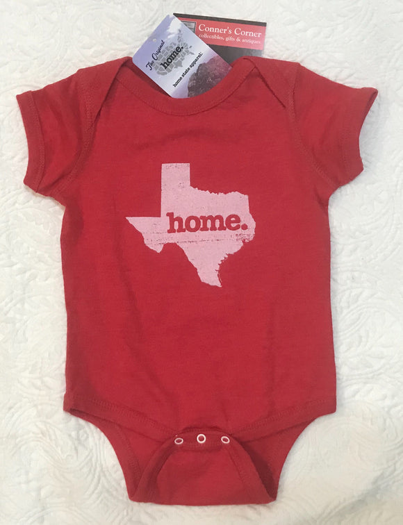 Texas Infant Play Suit Onesie