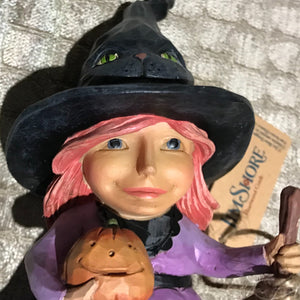 "Jim Shore Halloween ""Welcome the Magic"" Witch"