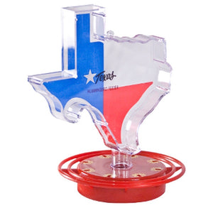 Texas Shaped Hummingbird Feeder