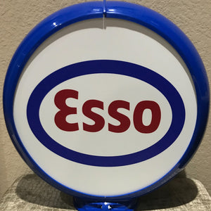Esso Reproduction Gas Pump Globe