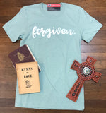 """Forgiven"" Bella Canvas Unisex Fit Crew Neck T-shirt"