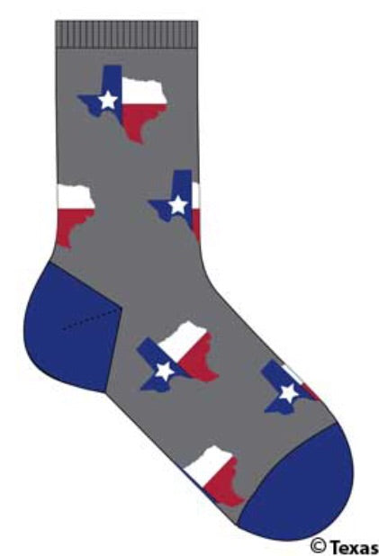 Unisex Texas Socks