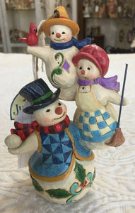 Jim Shore Stacked Snowman Family
