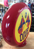 Dixie Reproduction Poly Plastic Gas Pump Globe