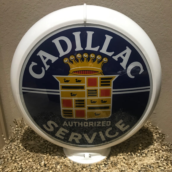Cadillac Reproduction Gas Pump Globe