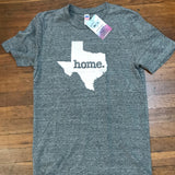 Texas Home Texas T-shirt by Home State Apparel