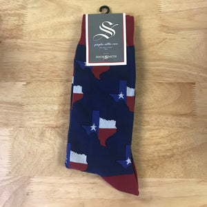 Men's Crew Texas Socks by Socksmith