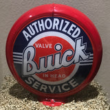 Buick Reproduction Gas Pump Globe, Glass Lenses