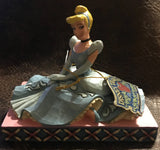 "Jim Shore Disney Traditions ""Be Charming"" Princess Cinderella"