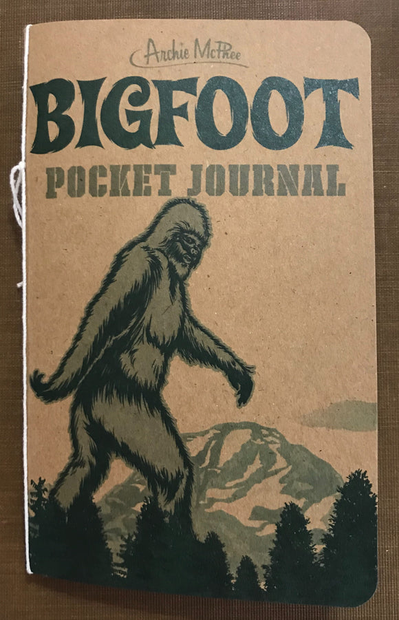 Bigfoot Pocket Journal