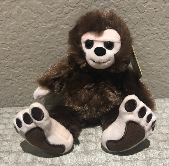 Plush Mini Bigfoot