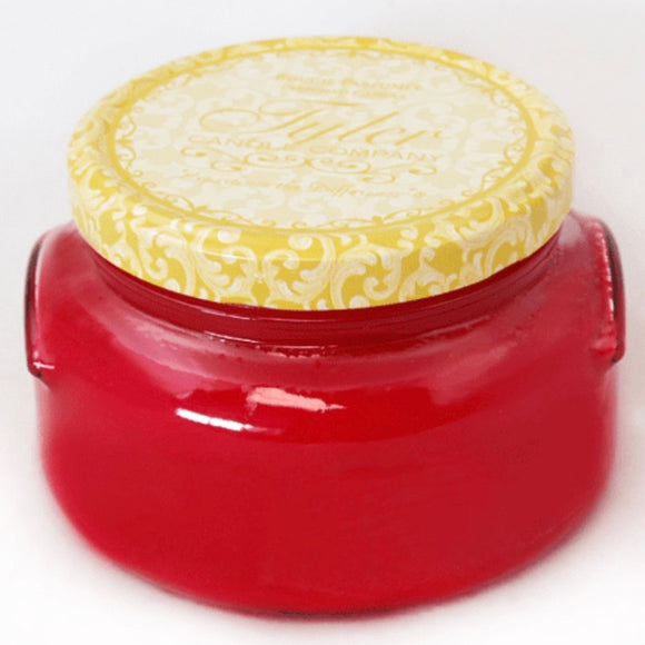 Tyler Candle Frosted Pomegranate