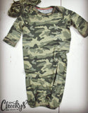 Camouflage Baby Gown