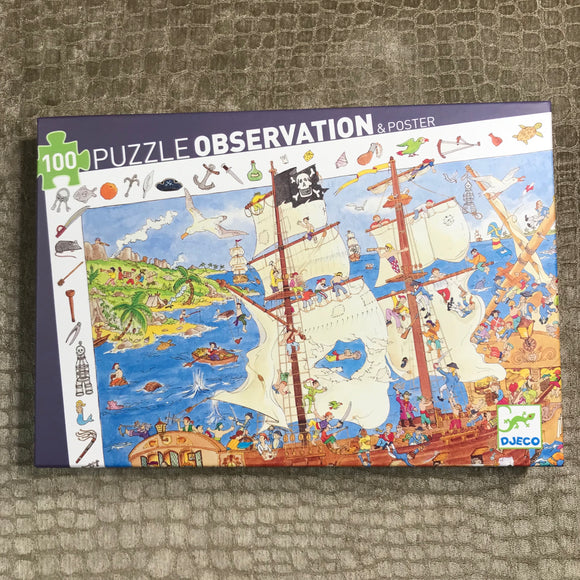 Pirate Puzzle Observation