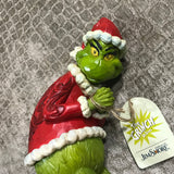 Jim Shore Grinch Sneaking Around