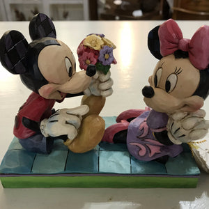 Jim Shore Disney Mickey & Minnie