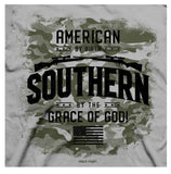 """American by Birth, Southern by the Grace of God"" t-shirt"