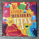 "Kid's Book: ""10 Little Monsters Visit Texas"""
