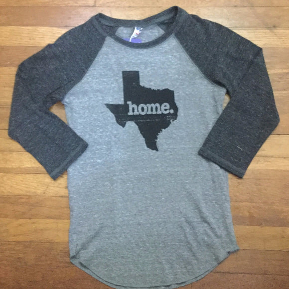 Texas Home Raglan Sleeve T-shirt