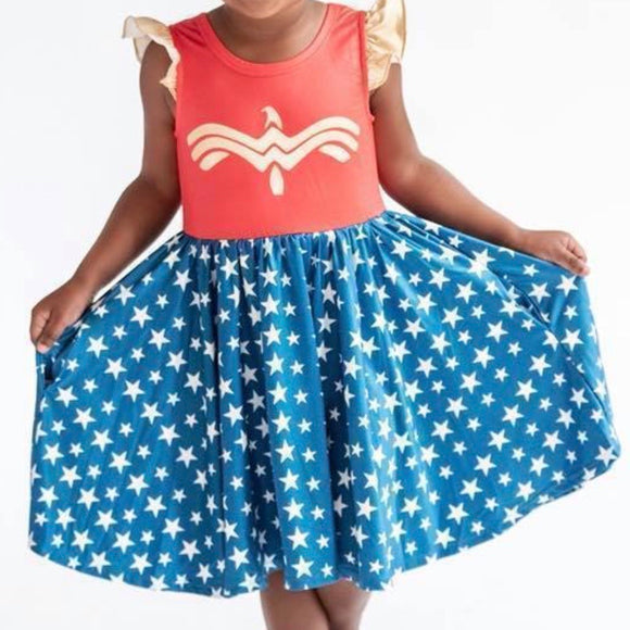 Twirly Dress Wonder Girl