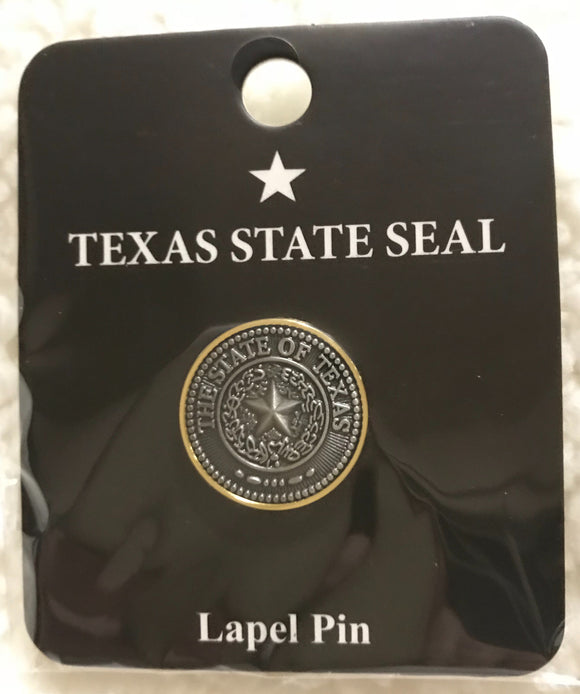 State Seal of Texas Lapel Pin