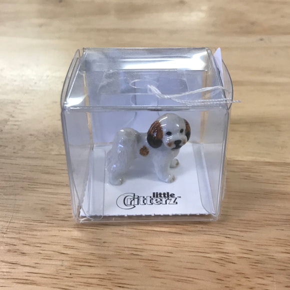 Little Critterz Shih Tzu Miniature Porcelain Figure