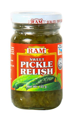 Ram Sweet Pickle Relish 135 G Demo Store Grocery