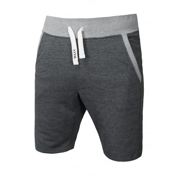 Waxx Men's Dark Grey French Terry Shorts