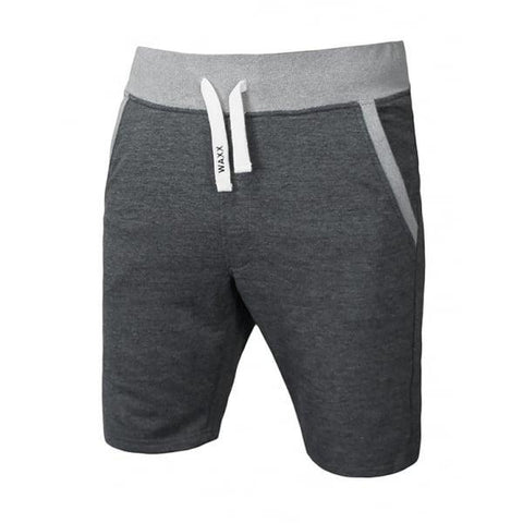 Waxx Men's Light Grey French Terry Shorts
