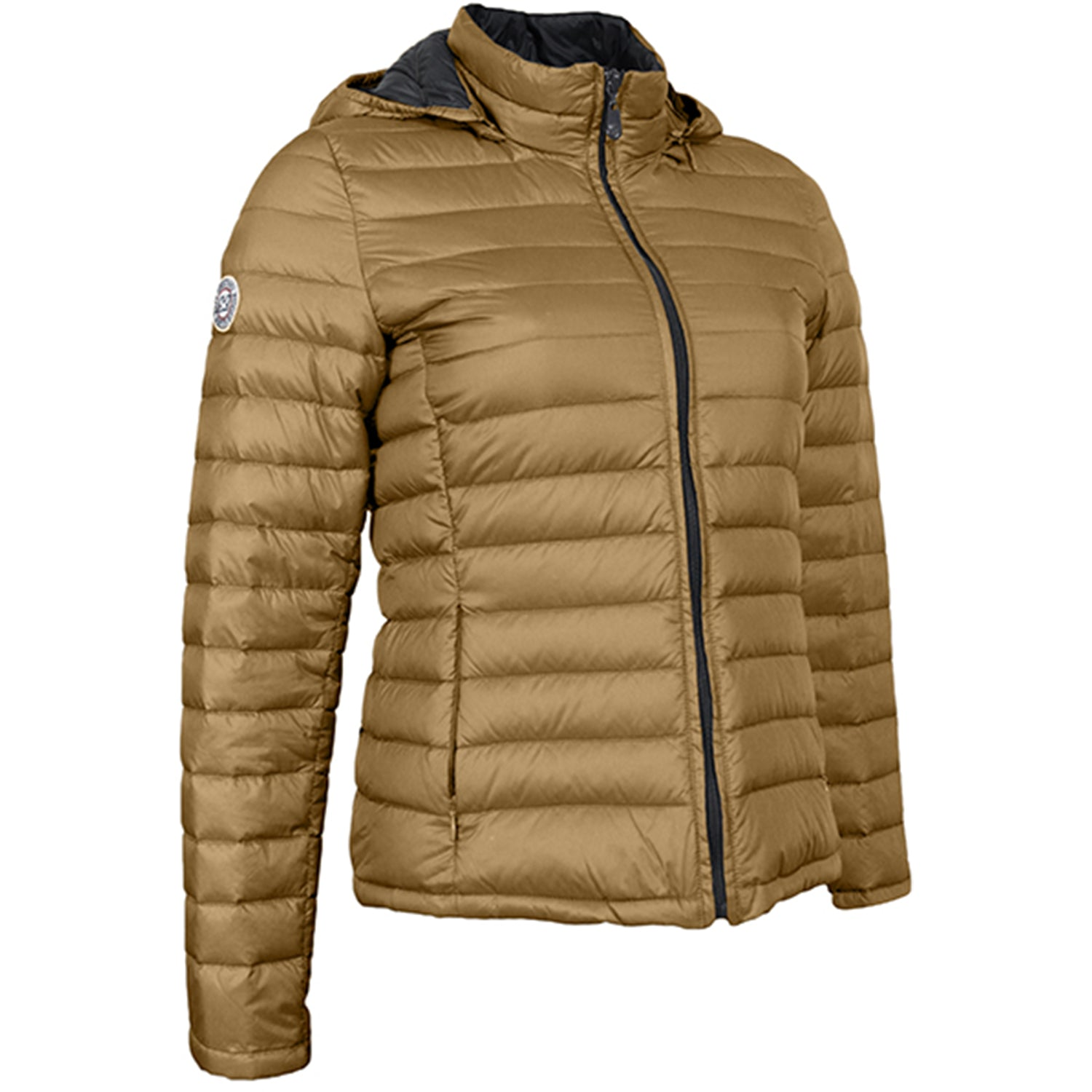 Waxx Shelter Ladies Organic Down Jacket Gold