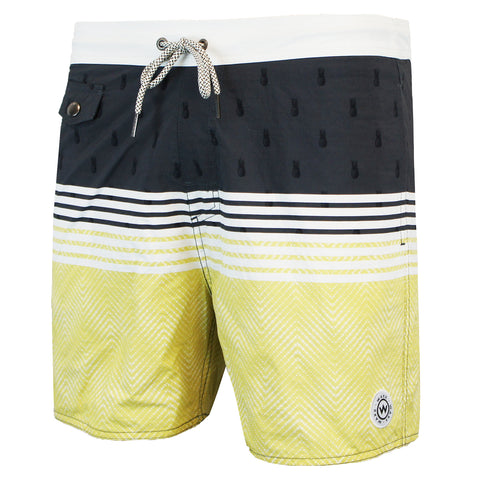Waxx Miami Men's Beach Short Sunset