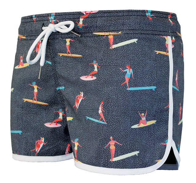 Waxx Boardie Longboard Womens Beach Short