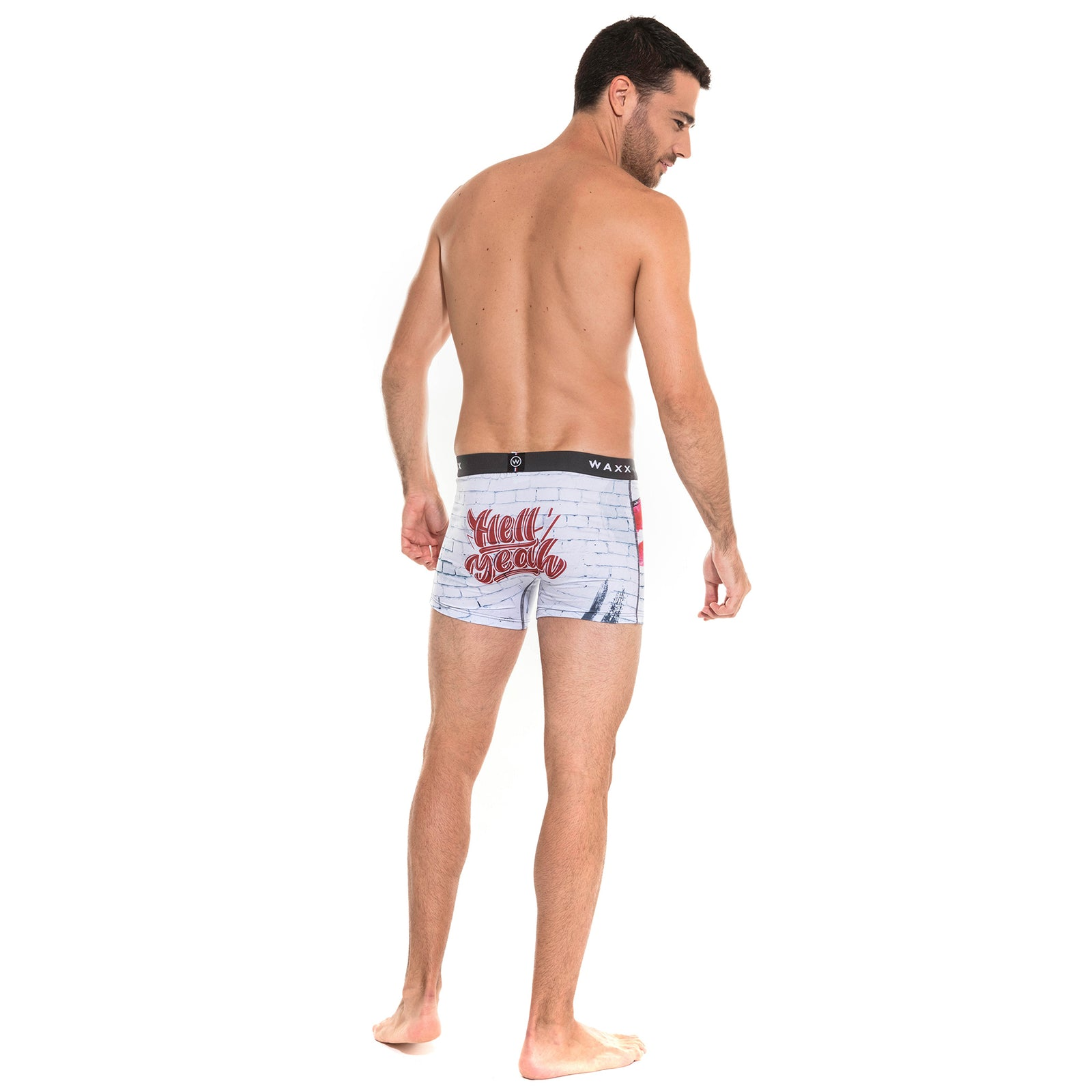 Waxx Men's Trunk Boxer Short Kiss
