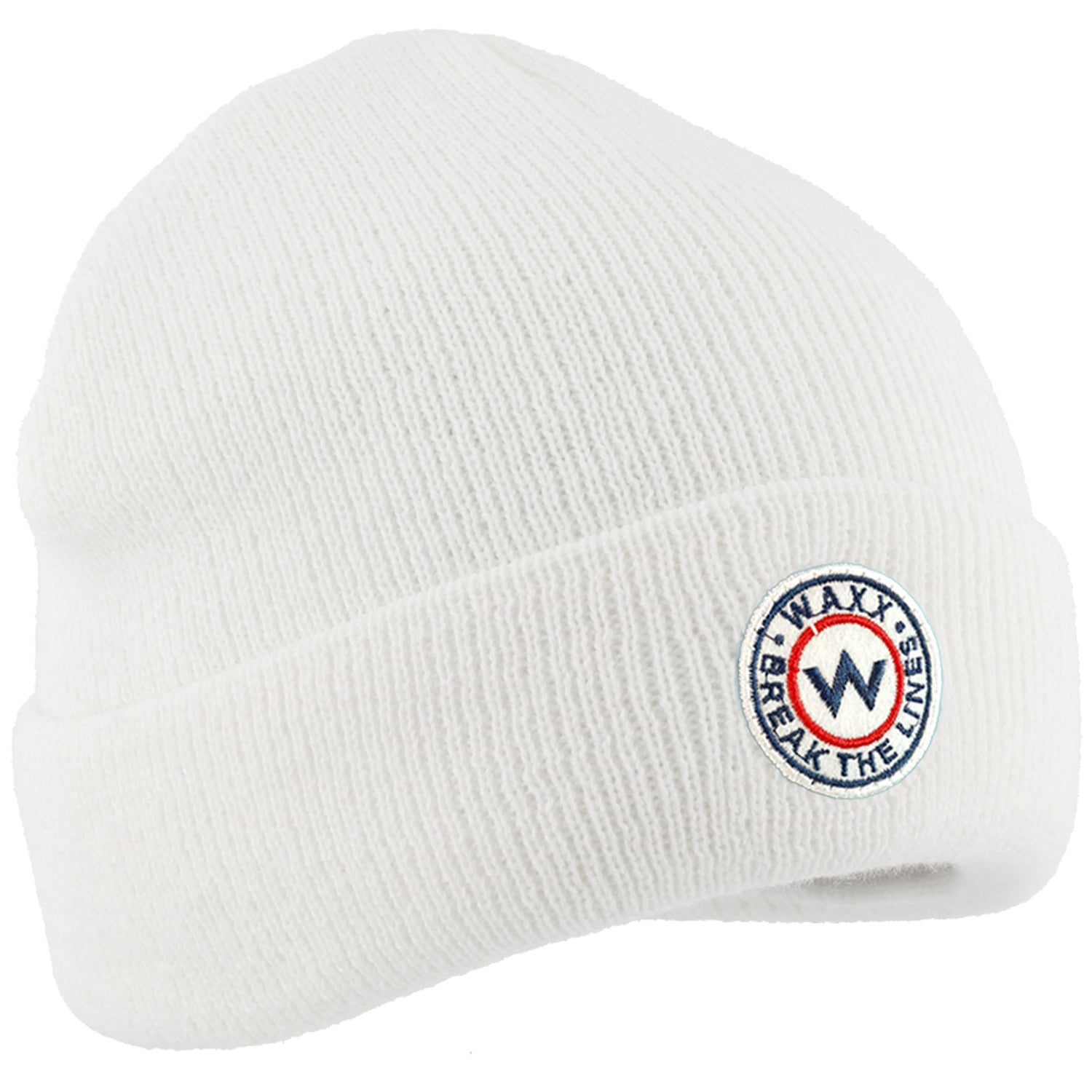 Waxx Chicago Unisex Beanie White