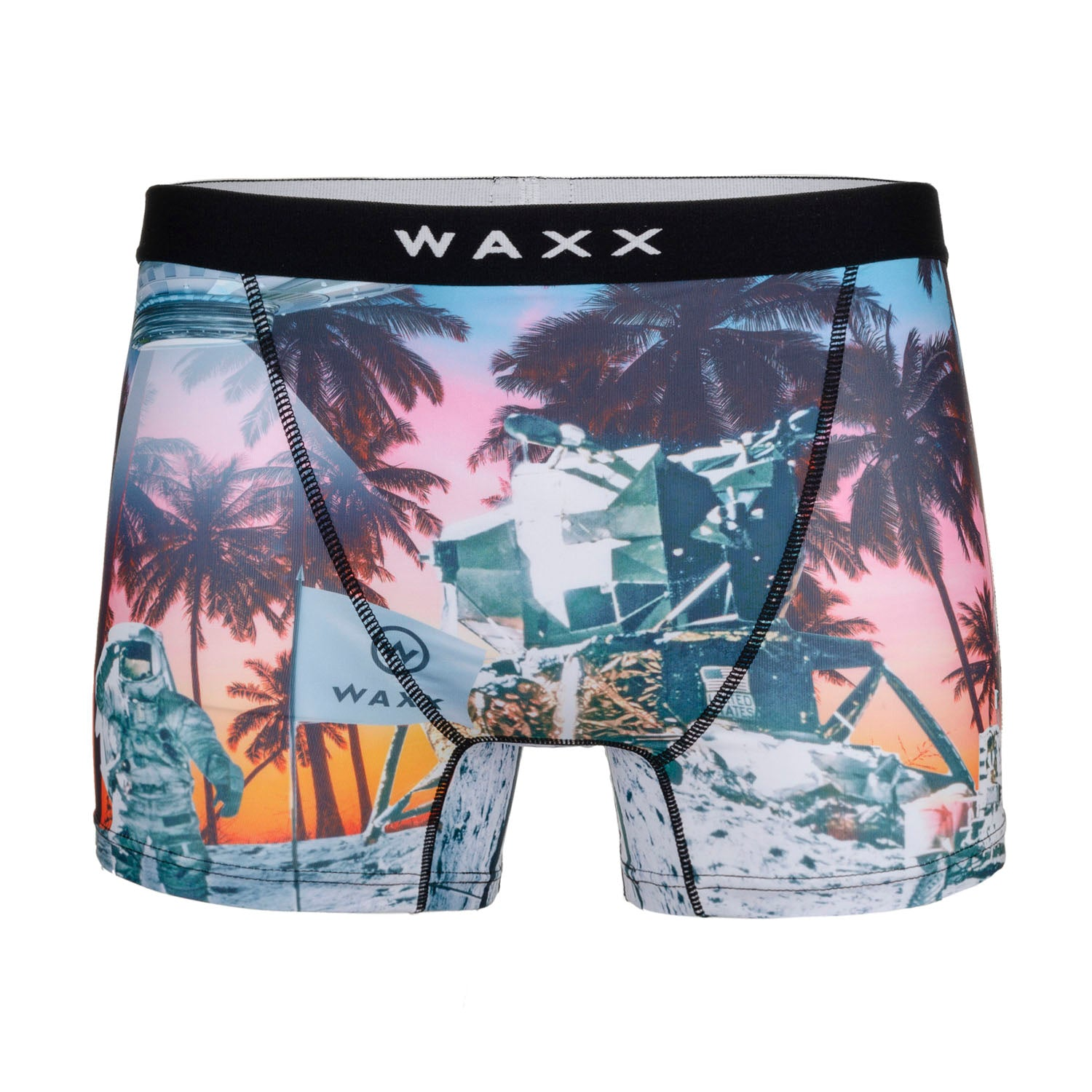 Waxx Men's Microfibre Trunk Boxer Burn