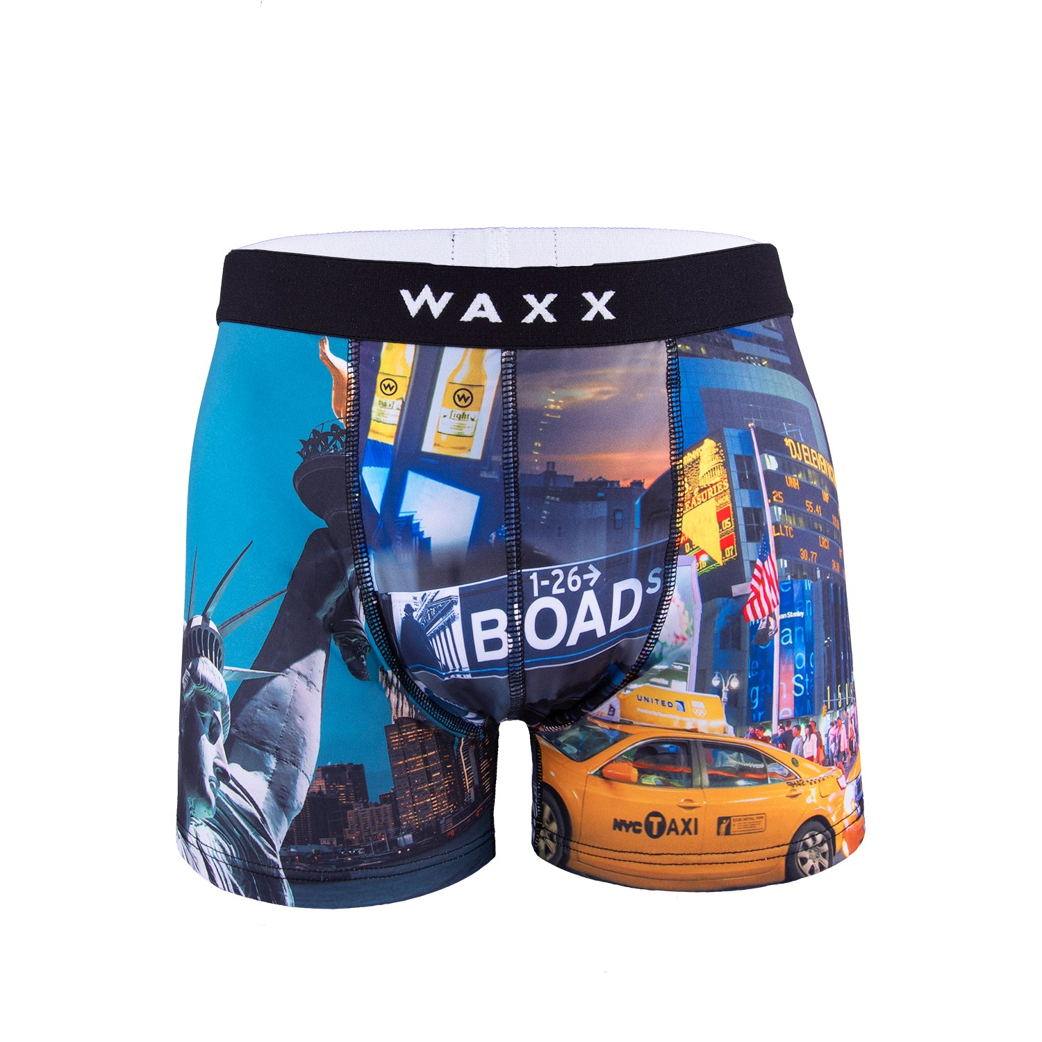 Waxx Men's Trunk Boxer Short New York
